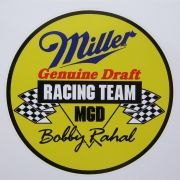 Adesivo modelo Racing Team MGD Bobby Rahal - Miller Genuine Draft