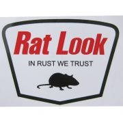 Adesivo modelo Rat Look - In Rust We Trust