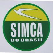 Adesivo modelo Simca do Brasil