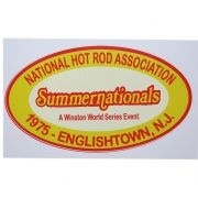 Adesivo modelo Summernationals Hot Rod Association