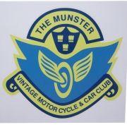 Adesivo modelo The Munter Vintage Motor Cycle & Car Club
