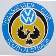 Adesivo modelo Volkswagen Club South Australia VW
