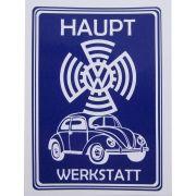 Adesivo modelo VW Haupt Werkstatt