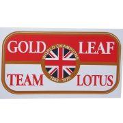 Adesivo modelo World Champions - Gold Leaf Team Lotus