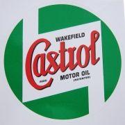Adesivo para vidro modelo Castrol Wakefield Motor Oil
