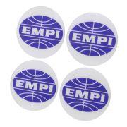 Adesivo resinado modelo EMPI com 76 mm para calotas