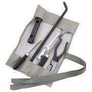Bolsa de ferramentas na cor cinza para VW Fusca 1200 e 1300
