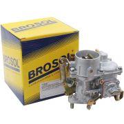 Carburador 30 PIC Solex Brosol sem Regulador Elétrico M.L para VW Fusca, Brasília, Karmann Ghia e Kombi 1500 e 1600 - Gasolina