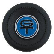 Copo com emblema GT azul para volante Walrod Ford Corcel e Maverick