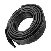 Deblun galão do paralama na cor preta para VW Fusca - Par Traseiro