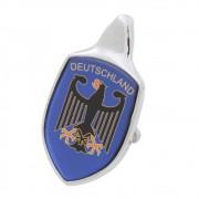 Emblema Adesivo Brasão Capô Deutschland Azul VW Fusca até 1966