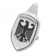 Emblema Adesivo Brasão Capô Prata Águia Alemã VW Fusca até 1966