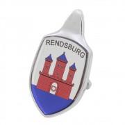 Emblema Adesivo Brasão Capô Rendsburg VW Fusca até 1966
