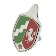 Emblema Brasão Capô VW Fusca até 1966 Modelo Renânia do Norte-Vestfália