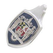 Emblema Brasão do capo modelo Paulistarum Terra Mater para VW Fusca até 1966