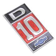 Emblema D-10 para GM Chevrolet