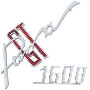 Emblema da tampa do motor para Puma GT 1600