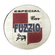 Emblema do botão de buzina Fuzzio para carros