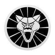 Emblema do botão de buzina mod. face para Puma