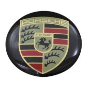 Emblema do botão de buzina volante Taladelta Porsche