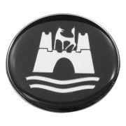 Emblema do botão de buzina volante Taladelta Wolfsburg