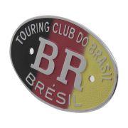 Emblema Plaqueta Brasão Alemanha BR Touring Brésil
