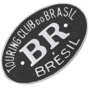 Emblema plaqueta brasão BR Touring Brésil