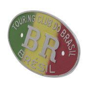 Emblema plaqueta brasão Jamaica BR Touring Brésil