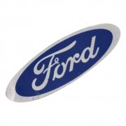 Emblema Plaqueta Ford 65mm x 22mm Jeep Rural F-75