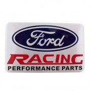 Emblema plaqueta lateral Ford Racing Performace Parts