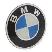 Emblema resinado modelo BMW com 58 mm para calotas