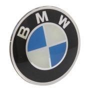 Emblema resinado modelo BMW com 69 mm para calotas
