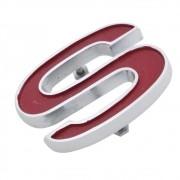 Emblema S da grade e painel traseiro para GM Chevrolet Opala SS