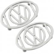 Grade da buzina do paralama para VW Fusca modelo Logo VW