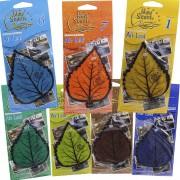 Kit 7 Aromas Cheirinho Automotivo Aromatizante Odorizante Folha Árvore Air Leaf New Scent 014711