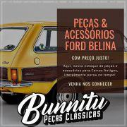 Guarnição borracha de vedação da porta para Ford Corcel e Belina 1 até 1977 - Lado do Passageiro