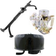 Kit Carburador 30 PIC Novo + Coletor de admissão Fusca, Kombi, Karmann Ghia 1500 + Filtro de ar