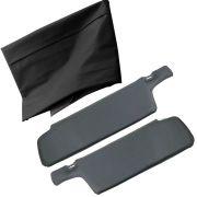 Jogo, Forro de teto modelo preto + Quebra sol na cor preta para GM Opala e Caravan
