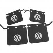 Jogo Para Barro Preto Paralama VW Fusca