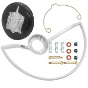 Kit aro do volante, botão buzina standard e reparo de contato para VW Fusca até 1973