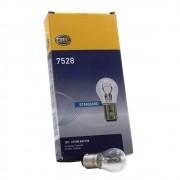 Lâmpada Hella modelo 2 pólos Standard 12v / 21/5 Watts