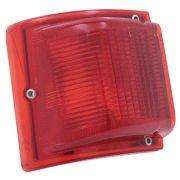 Lanterna traseira para Ford Belina 1973 à 1977 vermelha - Canto - Lado do Motorista