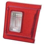 Lanterna traseira para Ford Belina 1973 à 1977 vermelha - Reta - Lado do Passageiro