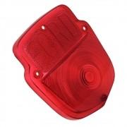 Lente vermelha da lanterna traseira para Ford F350 F600