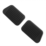 Par Capa Borracha do Pedal Freio e Embreagem Ford Corcel 2 78 à 85