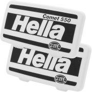 Par, Capa de proteção para farol de milha ou auxiliar Hella modelo 550