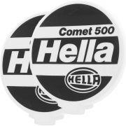 Par Capa de Proteção Farol de Milha ou Auxiliar Modelo Hella Comet 500