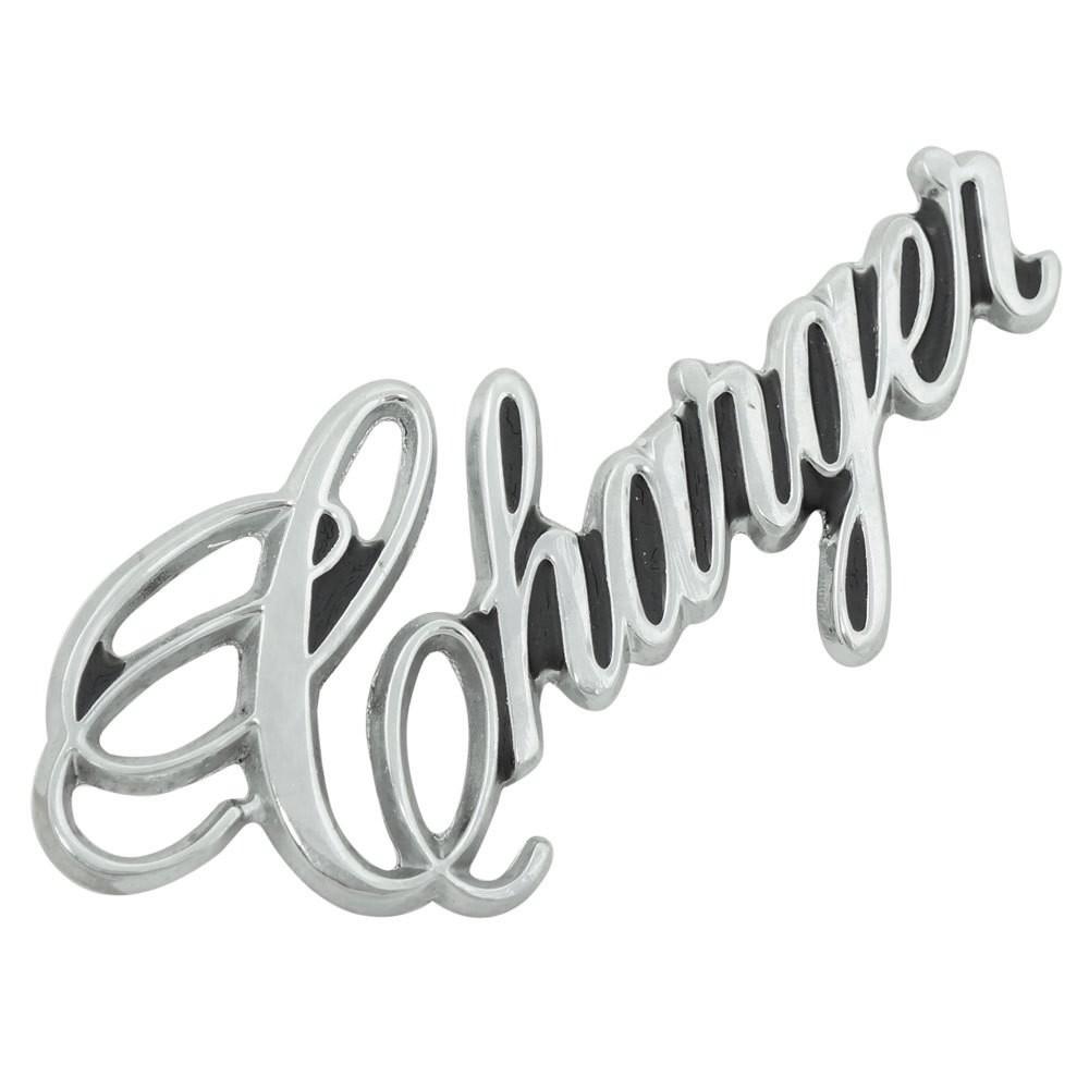 Emblema lateral do Chrysler Dodge Charger R/T 79/82  - Bunnitu Peças e Acessórios