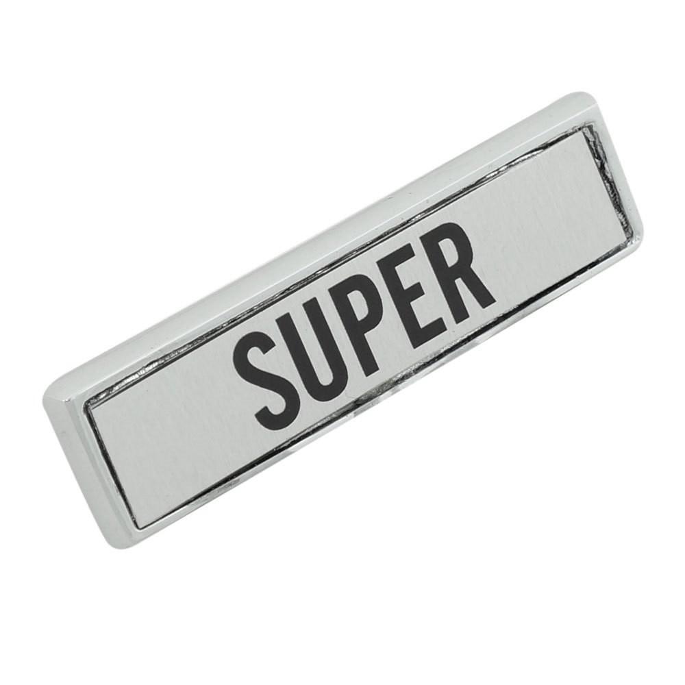 Emblema lateral modelo Super para Ford Maverick  - Bunnitu Peças e Acessórios