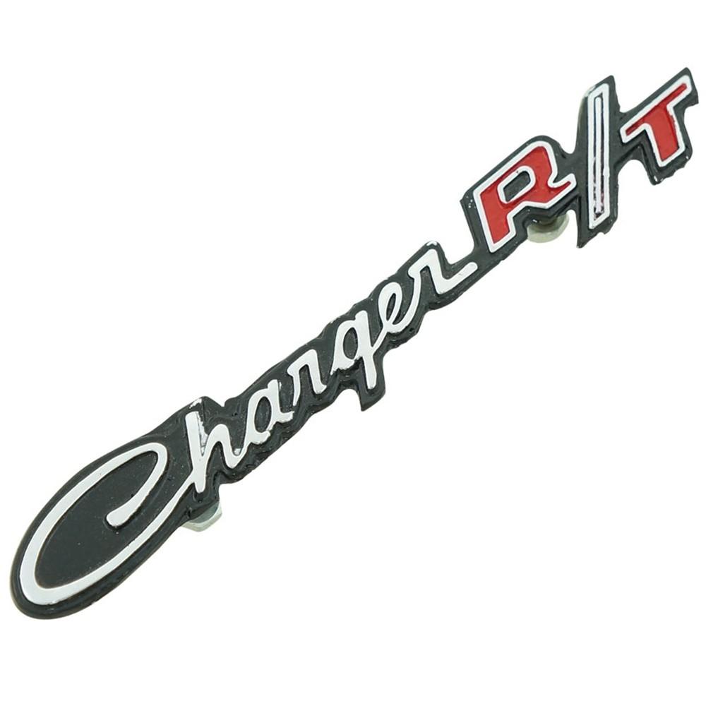 Emblema assinatura para painel porta luvas Dodge Charger R/T  - Bunnitu Peças e Acessórios